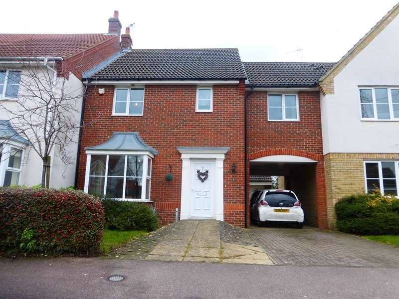 4 Bedrooms Terraced House for sale in Longcroft Lane, Marston Moretaine, Bedford, MK43