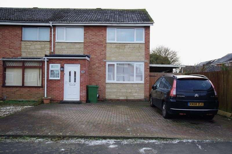 3 Bedrooms Semi Detached House for sale in St. Andrews Green, Covingham, Swindon