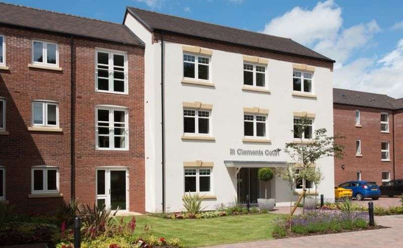 1 Bedroom Flat for sale in St Clements Court,Atherstone : One bed first floor retirement apartment