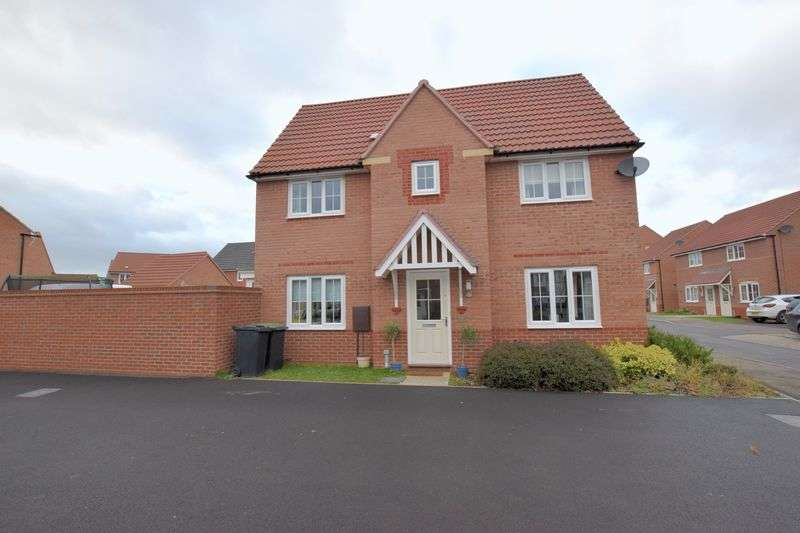 3 Bedrooms Detached House for sale in Tacitus Way, Lincoln