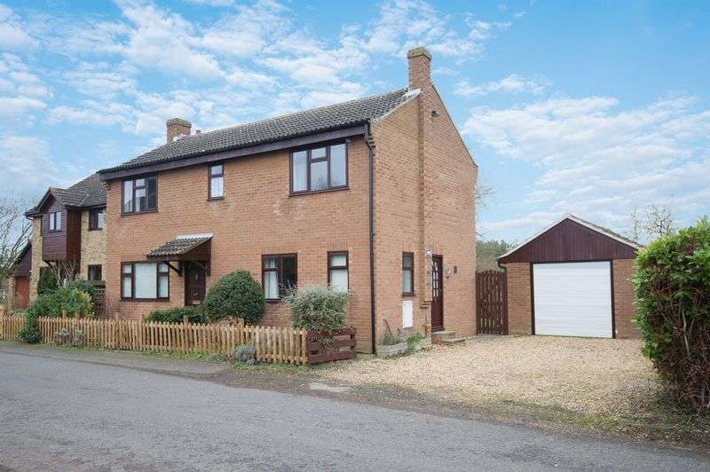 4 Bedrooms Detached House for sale in Staploe, St. Neots
