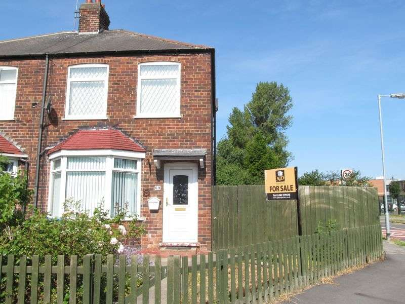 2 Bedrooms Terraced House for sale in Campion Avenue, Hull