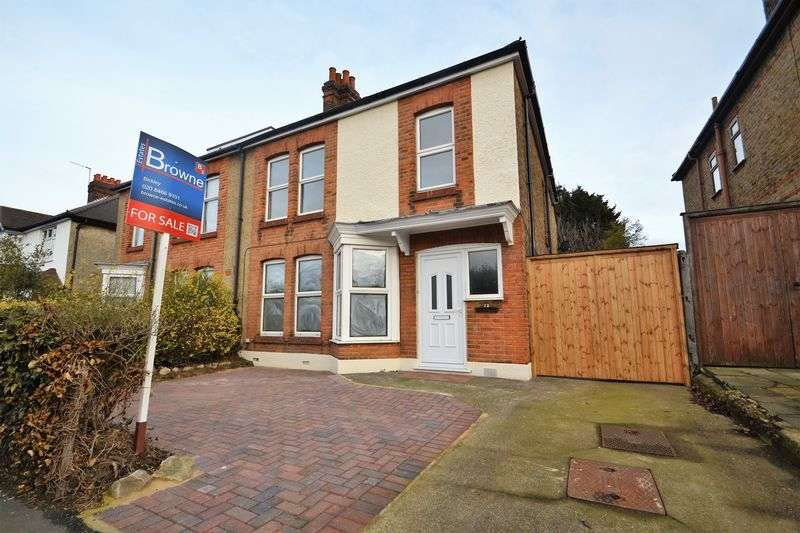 4 Bedrooms Semi Detached House for sale in Burnt Ash Lane, Bromley
