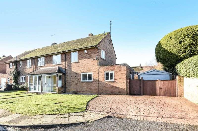 3 Bedrooms Semi Detached House for sale in Garford Close, Abingdon