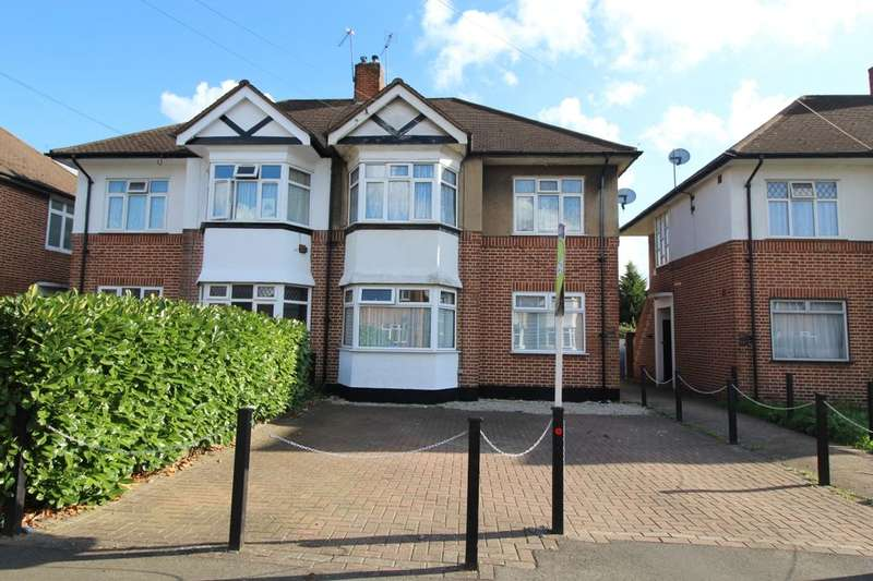 2 Bedrooms Flat for sale in Amesbury Road, Feltham, TW13