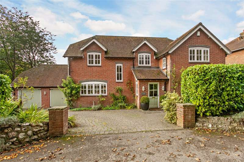 4 Bedrooms Detached House for sale in Gravel Lane, Barton Stacey, Winchester, Hampshire, SO21