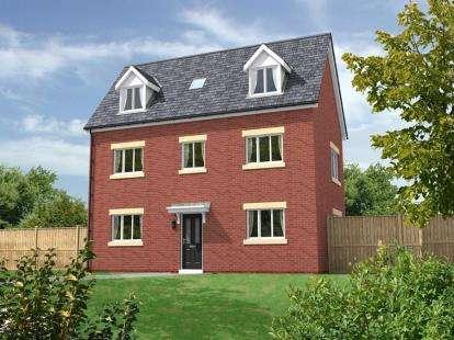 4 Bedrooms Detached House for sale in Chatsworth Park, Off Rope Lane, Shavington