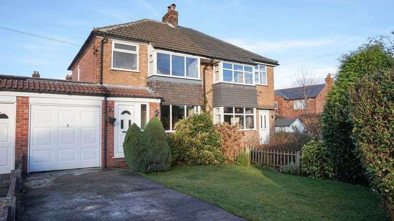 3 Bedrooms Semi Detached House for sale in Whitesands Road, Lymm