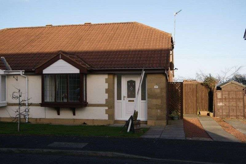 2 Bedrooms Semi Detached Bungalow for sale in Ashley Close, Killingworth