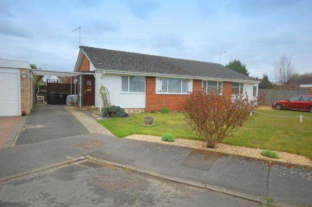 3 Bedrooms Semi Detached Bungalow for sale in West Moors, Dorset, BH22