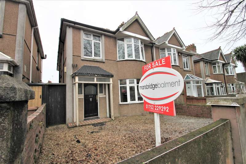 4 Bedrooms Semi Detached House for sale in Peverell, Plymouth