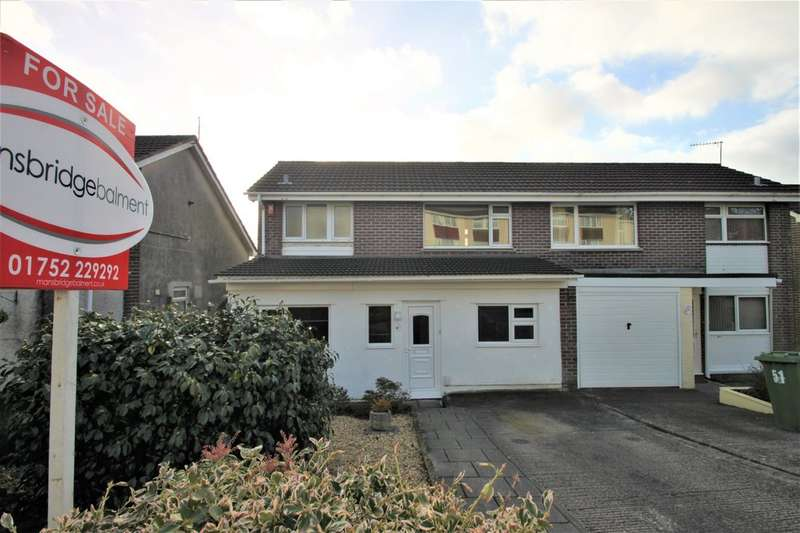 4 Bedrooms Semi Detached House for sale in Eggbuckland, Plymouth