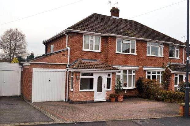 3 Bedrooms Semi Detached House for sale in Beaufort Avenue, Cubbington, Leamington Spa, Warwickshire