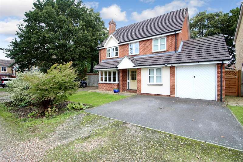 4 Bedrooms Detached House for sale in Wright Lane, Kesgrave, Ipswich