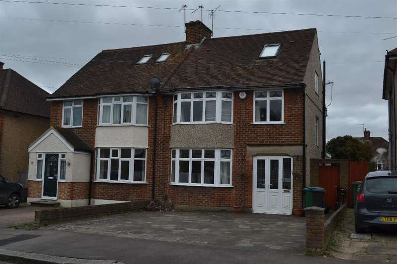 4 Bedrooms Semi Detached House for sale in Westfield Avenue, Watford, Herts