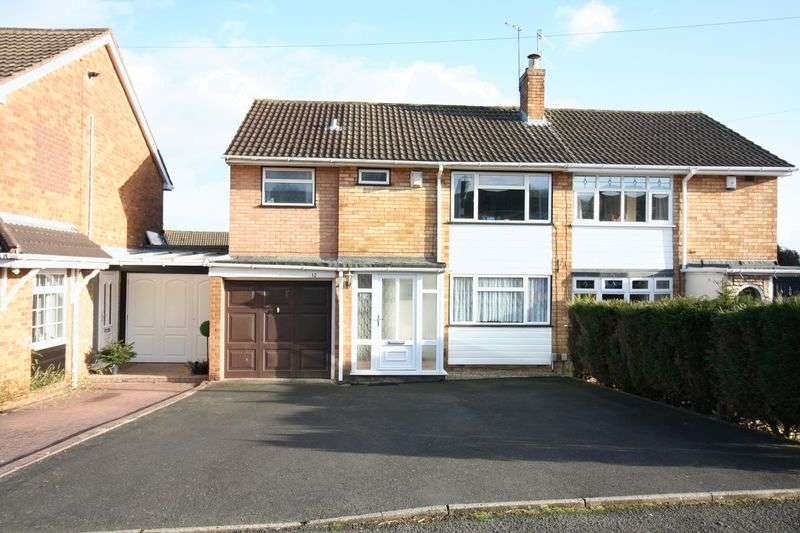 4 Bedrooms Semi Detached House for sale in WORDSLEY, Hamilton Drive