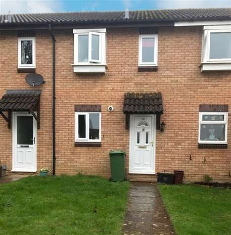 2 Bedrooms Terraced House for sale in Walnut Walk, Frome