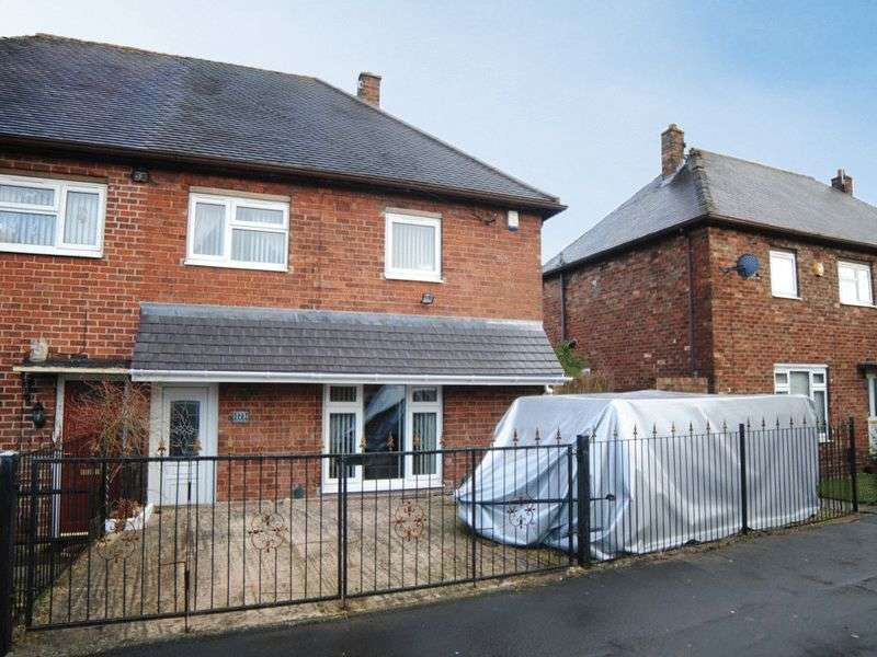 3 Bedrooms Semi Detached House for sale in Ubberley Road, Bentilee, Stoke-On-Trent, ST2 0EF