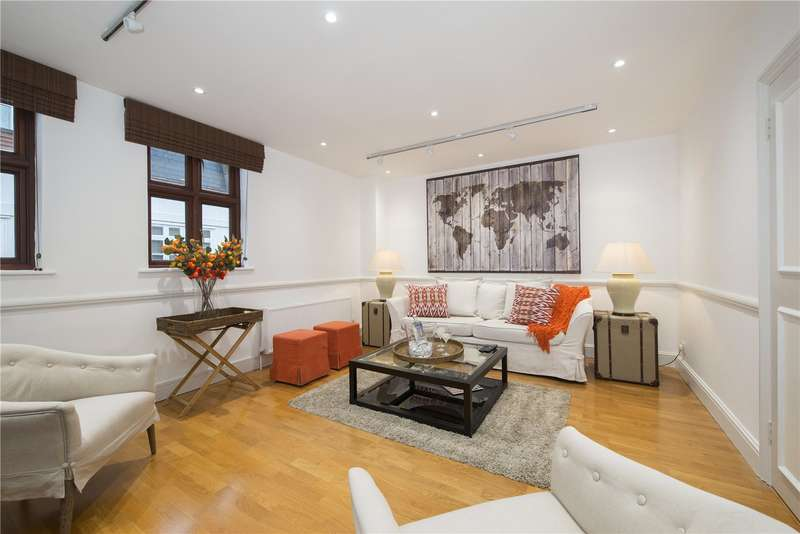 3 Bedrooms Mews House for sale in Thornton Place, Marylebone, London, W1H