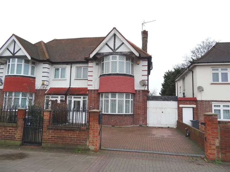 3 Bedrooms Semi Detached House for sale in Great West Road, near Osterley Station