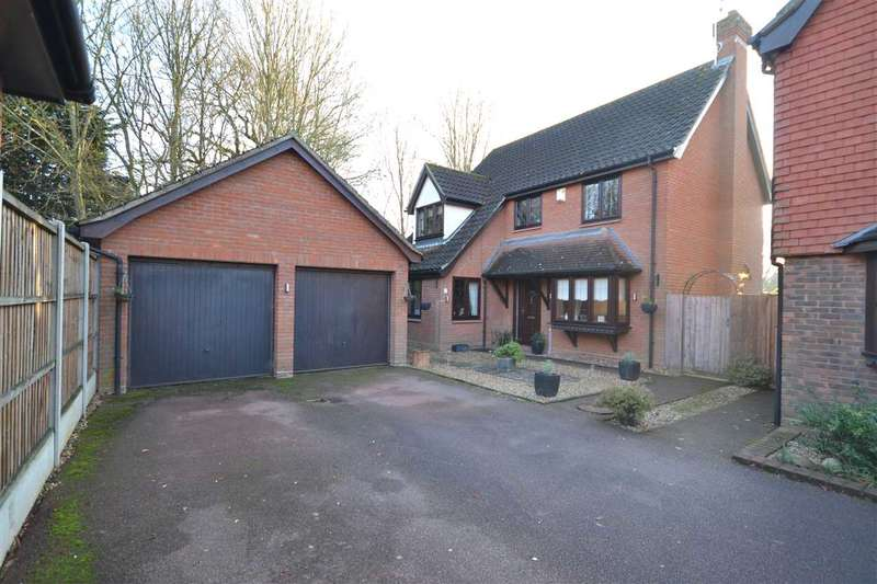 4 Bedrooms Detached House for sale in Felstead Close, Brentwood