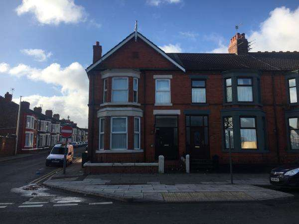 4 Bedrooms End Of Terrace House for sale in 25 PRIORY ROAD, LIVERPOOL