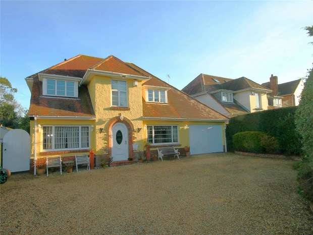 4 Bedrooms Detached House for sale in ORCHARD AVENUE, Poole, Dorset
