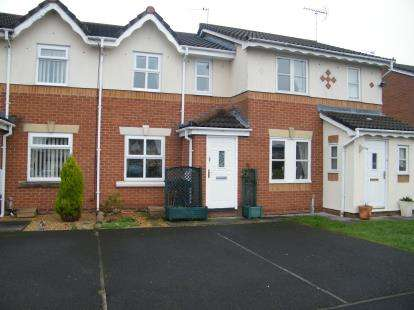 2 Bedrooms Terraced House for sale in Firtree Close, Winsford, Cheshire, CW7