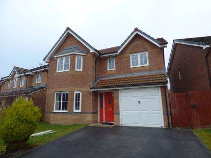 4 Bedrooms Detached House for sale in Mill Bank, Brymbo, Wrexham, Wrecsam, LL11