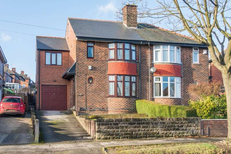 4 Bedrooms Semi Detached House for sale in Lees Hall Road, Norton Lees