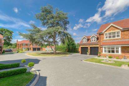 4 Bedrooms Detached House for sale in Cedar Court, Blakelands, Milton Keynes, Buckinghamshire