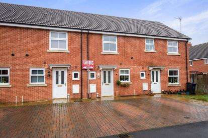 2 Bedrooms Terraced House for sale in Boddington Drive Kingsway, Quedgeley, Gloucester, Gloucestershire
