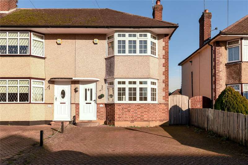 2 Bedrooms End Of Terrace House for sale in Royal Crescent, South Ruislip, Middlesex, HA4