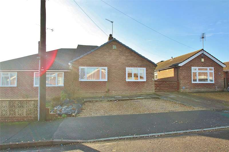 3 Bedrooms Semi Detached Bungalow for sale in Burnham Road, Knaphill, Woking, Surrey, GU21