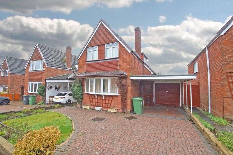 3 Bedrooms Detached House for sale in Spring Vale Road, Webheath. Redditch