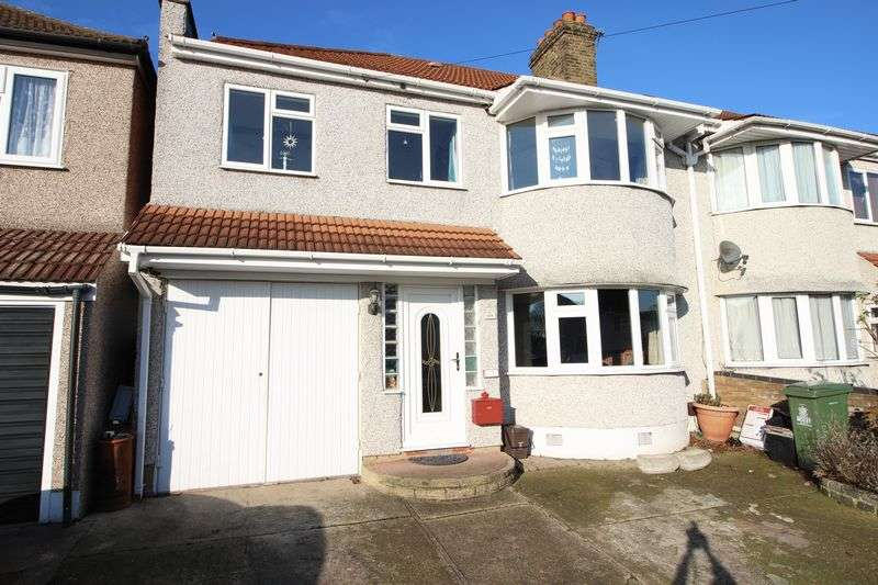 4 Bedrooms Semi Detached House for sale in Okehampton Crescent, Welling, DA16 1DH