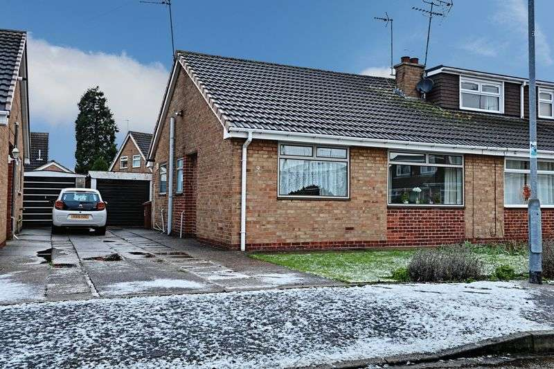 2 Bedrooms Semi Detached Bungalow for sale in Silsden Avenue, Hull