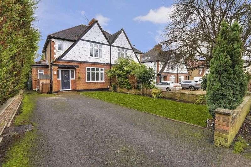 3 Bedrooms Semi Detached House for sale in Warren Road, Banstead. SM7 1LQ