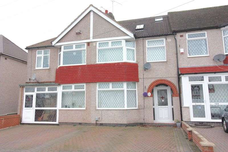 4 Bedrooms Terraced House for sale in Overslade Crescent, Coundon, Coventry