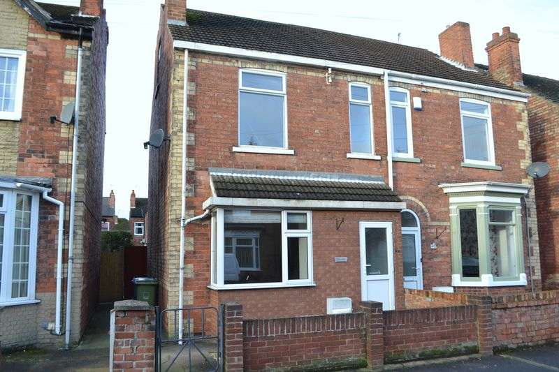 4 Bedrooms Semi Detached House for sale in Garfield Street, Gainsborough