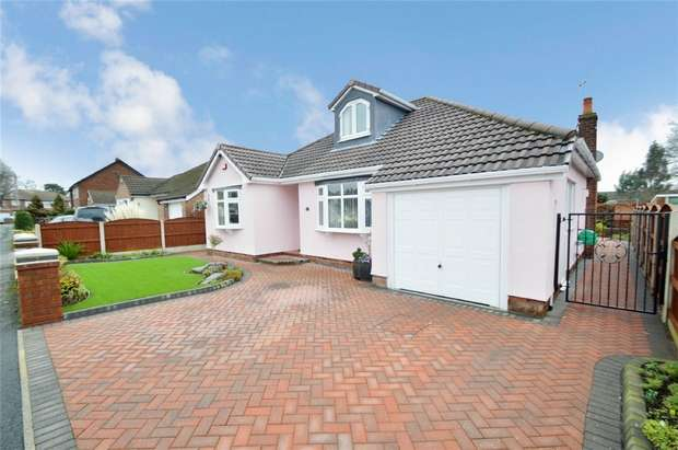3 Bedrooms Detached Bungalow for sale in Braemar Road, Hazel Grove, Stockport, Cheshire
