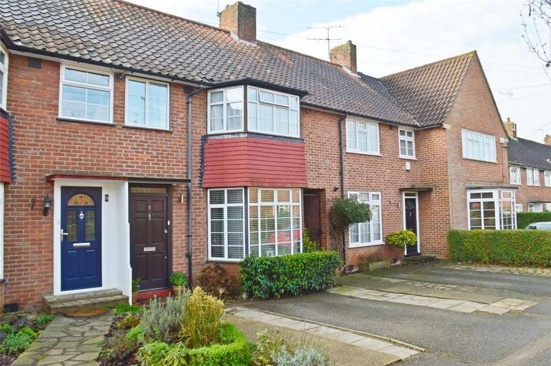 3 Bedrooms Terraced House for sale in Newfields, WELWYN GARDEN CITY, Hertfordshire