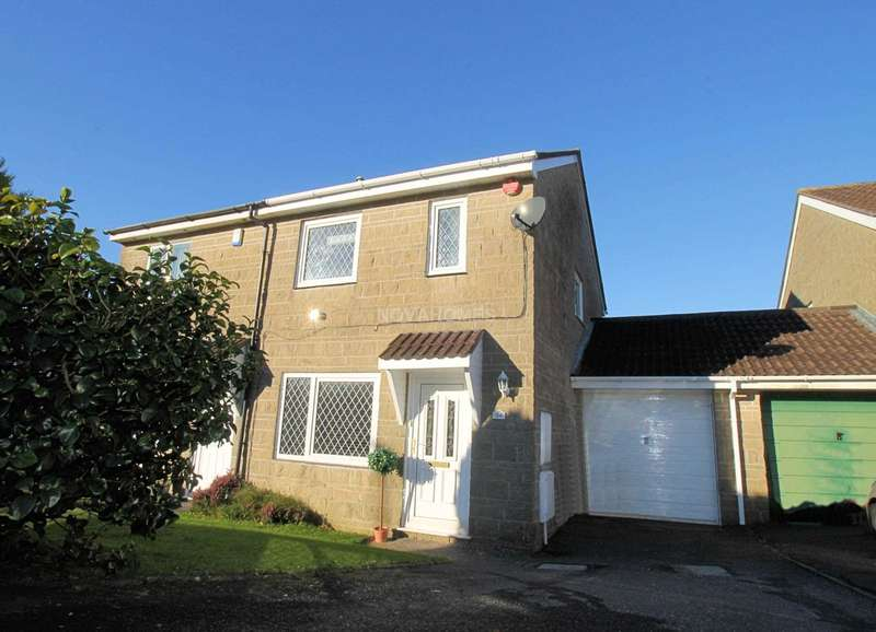3 Bedrooms Semi Detached House for sale in Barndale Crescent, Birdcage Farm, PL6 6PJ