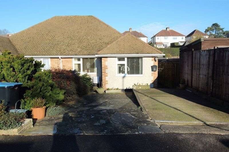 2 Bedrooms Semi Detached Bungalow for sale in MAURICE AVENUE, CATERHAM ON THE HILL