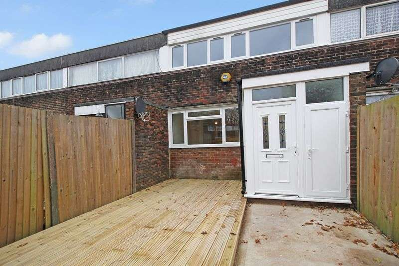 3 Bedrooms Terraced House for sale in Borage Close, Broadfield, Crawley, West Sussex