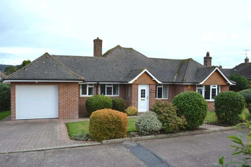 3 Bedrooms Detached Bungalow for sale in Cotlands, Sidmouth