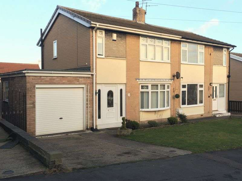 2 Bedrooms Semi Detached House for sale in Kell Road, Peterlee