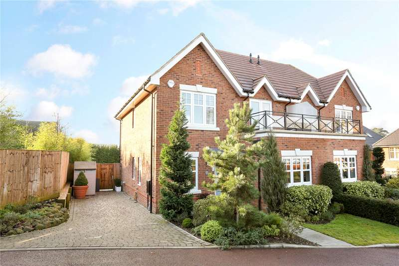 4 Bedrooms Semi Detached House for sale in Bird Gardens, Wargrave, Reading, Berkshire, RG10