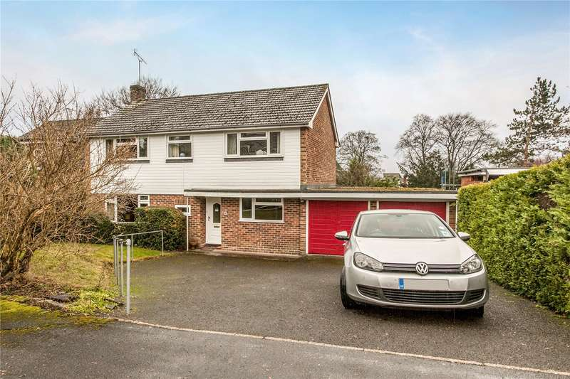 4 Bedrooms Detached House for sale in Abbey Hill Road, Winchester, Hampshire, SO23