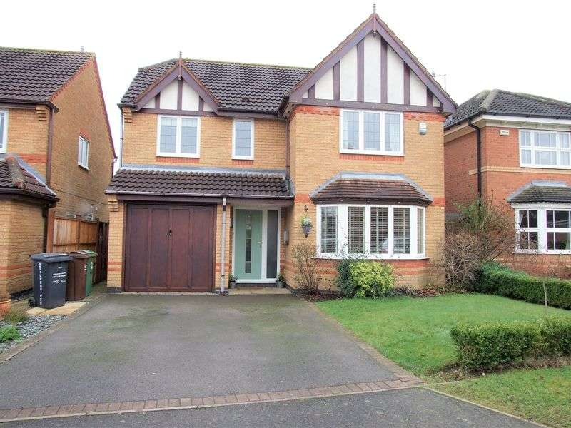 4 Bedrooms Detached House for sale in Silverbirch Way, Loughborough